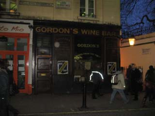 Gordons Wine Bar