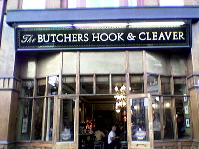 The Butchers Hook And Cleaver